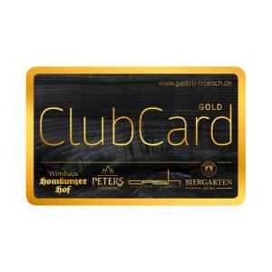 Gastro Trösch - ClubCard Gold
